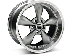 Bullitt Motorsport Anthracite Wheel - 18x10 (05-14 GT, V6)