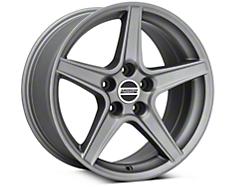 Saleen Style Charcoal Wheel - 17x9 (94-04 All)