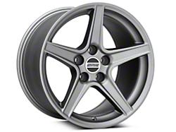 Saleen Style Charcoal Wheel - 17x10.5 (94-04 All)
