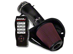 BAMA JLT Big Air Carbon Fiber Cold Air Intake & BAMA X4 Tuner (13-14 GT500)