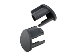 Gray Door Armrest Plugs - Left Side (87-93 All)