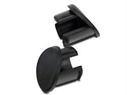 Black Door Armrest Plugs - Right Side (87-93 All)