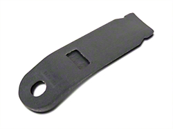 Inner Seat Belt Sleeve - Charcoal Gray (79-86 All)
