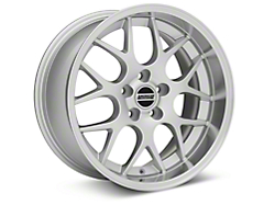 Deep Dish AMR Silver Wheel - 18x9 (05-14 All, Excludes 13-14 GT500)