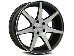 Vossen CV7 Machined Matte Graphite Wheel - 19x8.5 (05-14 All)