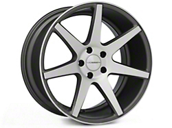 Vossen CV7 Machined Matte Graphite Wheel - 19x10 (05-14 All)
