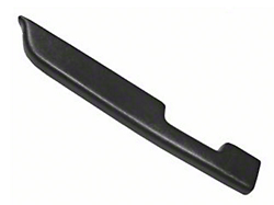 Black Door Arm Rest Pad - Left Manual Window (87-93 All)