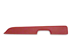 Red Door Arm Rest Pad - Right Power Window (87-93 All)