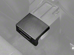 Center Console Arm Rest Delete Plate - Black (87-93 All)