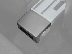 Center Console Arm Rest Delete Plate - Gray (87-93 All)