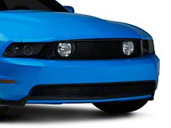 Modern Billet Black Pony Delete Billet Grille - Combo (10-12 GT)
