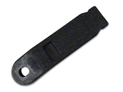 Inner Seat Belt Sleeve - Black (79-89 All)