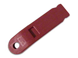 Inner Seat Belt Sleeve - Red (79-89 All)