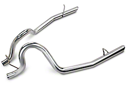 SR Performance Stainless Steel Tailpipes (86 GT; 87-93 5.0 LX; 93-97 Cobra; 94-97 GT)
