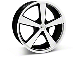 Nova Black Machined Wheel - 18x9 (05-14 GT, V6)