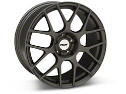 TSW Nurburgring Matte Gunmetal Wheel - 18x9 (94-04 All)