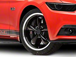 Deep Dish Bullitt Black Wheel - 20x8.5 (2015 V6, EcoBoost)