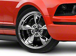 Deep Dish Bullitt Chrome Wheel - 20x8.5 (05-14 V6; 05-10 GT)