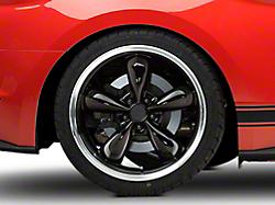 Deep Dish Bullitt Black Wheel - 20x10 (2015 V6, EcoBoost)