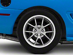 Deep Dish FR500 Style Anthracite Wheel - 18x10 (94-04 All)