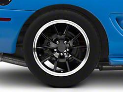 Deep Dish FR500 Style Black Wheel - 18x10 (94-04 All)