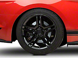 2010 GT500 Style Black Wheel - 19x10 (2015 All)