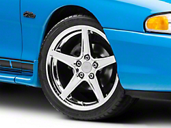 Saleen Style Chrome Wheel - 18x9 (94-04 All)