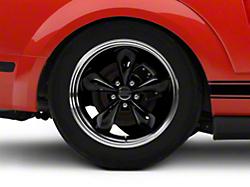 Deep Dish Bullitt Black Wheel - 18x10 (05-14 GT, V6)