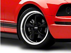 Bullitt Deep Dish Matte Black Wheel - 18x9 (05-14 GT, V6)