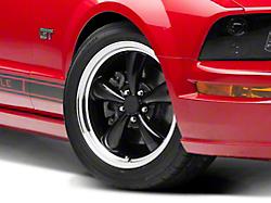Bullitt Black Wheel - 18x8 (05-14 GT, V6)