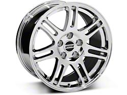 10th Anniversary Cobra Style Chrome Wheel - 17x9 (05-14 GT, V6)