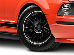 10th Anniversary Cobra Style Black Wheel - 17x9 (05-14 GT, V6)