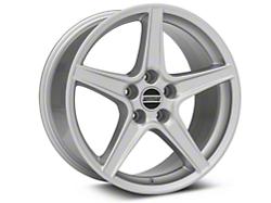 Saleen Style Silver Wheel - 18x9 (05-14 GT, V6)