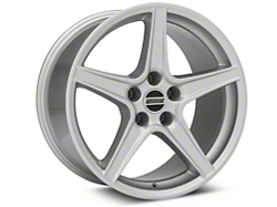 Saleen Style Silver Wheel - 18x10 (94-04 All)