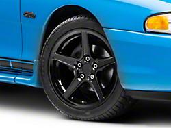 Saleen Style Black Wheel - 17x9 (94-04 All)