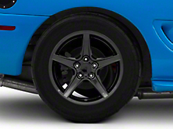 Saleen Style Black Wheel - 17x10.5 (94-04 All)