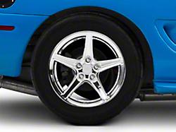 Saleen Style Chrome Wheel - 17x10.5 (94-04 All)