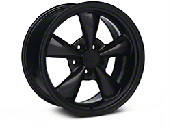 Bullitt Solid Black Wheel - 17x9 (05-14 V6; 05-10 GT)