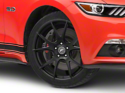 Forgestar CF5V Monoblock Matte Black Wheel - 19x9 (2015 All)