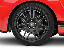 Forgestar F14 Monoblock Matte Black Wheel - 19x11 (2015 All)
