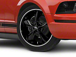 Foose Legend Black Wheel - 20x8.5 (05-14 All, Excluding GT500)