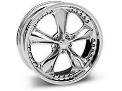 Foose Nitrous Chrome Wheel - 20x8.5 (2015 V6, EcoBoost)