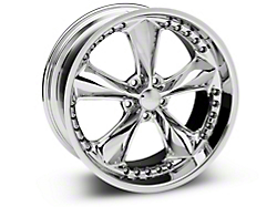 Foose Nitrous Chrome Wheel - 20x10 (2015 V6, EcoBoost)