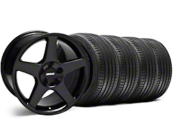 2003 Cobra Style Black Wheel & Sumitomo Tire Kit - 17x9 (94-98 All)