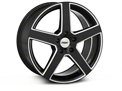 TSW Rivage Black Machined Wheel - 18x8 (94-04 All)