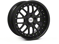 TSW Valencia Matte Black Wheel - 18x9.5 (94-04 All)