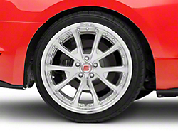 Shelby CS40 Silver Machined Wheel - 20x10 (2015 All)