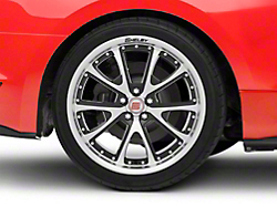 Shelby CS40 Black Machined Wheel - 20x10 (2015 All)