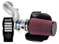 C&L Cold Air Intake w/ 82mm MAF & Bama X4 Tuner (02-04 GT)