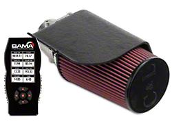 C&L Short Ram Air Intake w/80mm MAF & Bama X4 Tuner (96-01 GT, Bullitt)